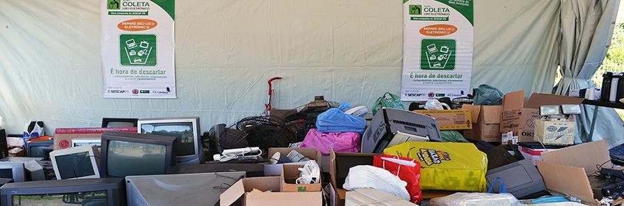 Umuarama realiza campanha de recolhimento de lixo eletrônico